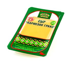 """Сыр """"Пармезан Гранд"""" фасованный слайсами"""